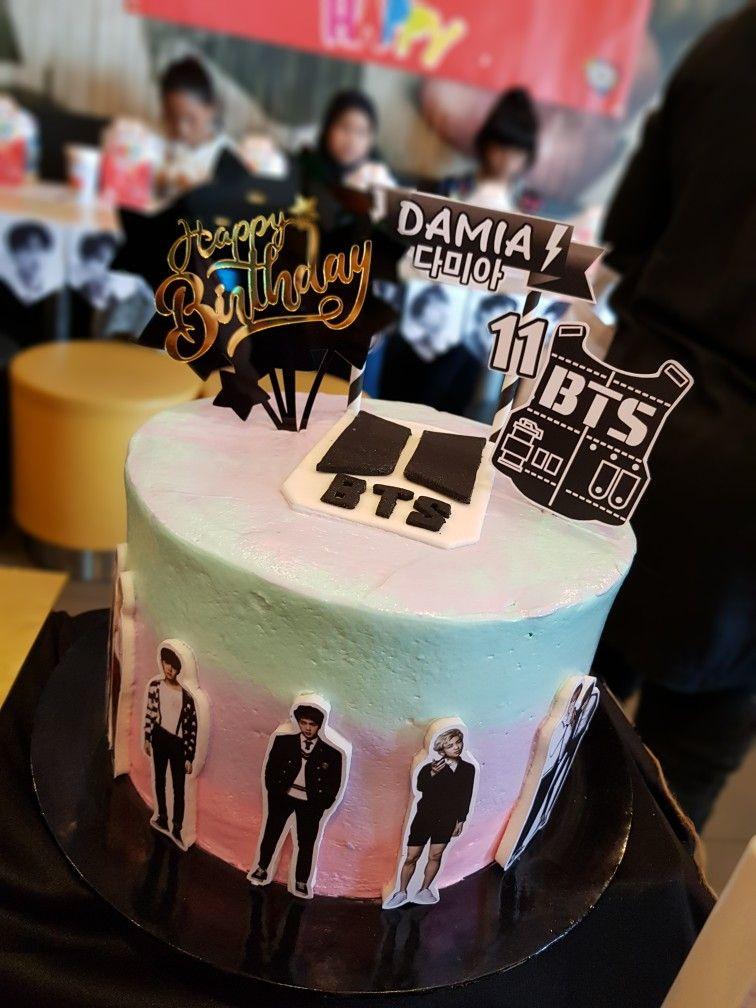 Bts Cake Bts Cake Cake Birthday Cake