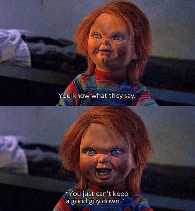 Horror Movie Quotes: Chucky Quotes Child's Play