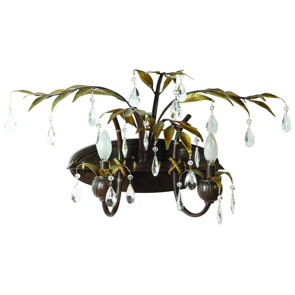 Yosemite Bathroom Lighting yosemite home decor new plantation collection 2-light maple with