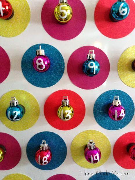 Mini Ornament Advent Calendar Diy Advent Calendar Preschool Christmas Christmas Advent Calendar
