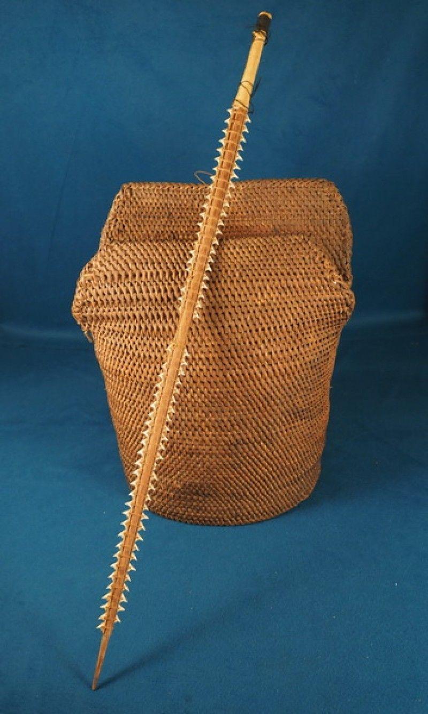 Rare th early th c kiribati micronesian or palau coconut fiber