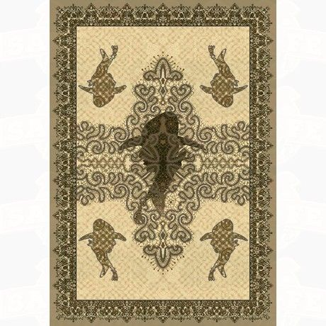 Skyhawk Rugs Gus Beige: The Gus Collection Is A Very Strong Piece Of Art  And The Beige Edition Is No Exception.