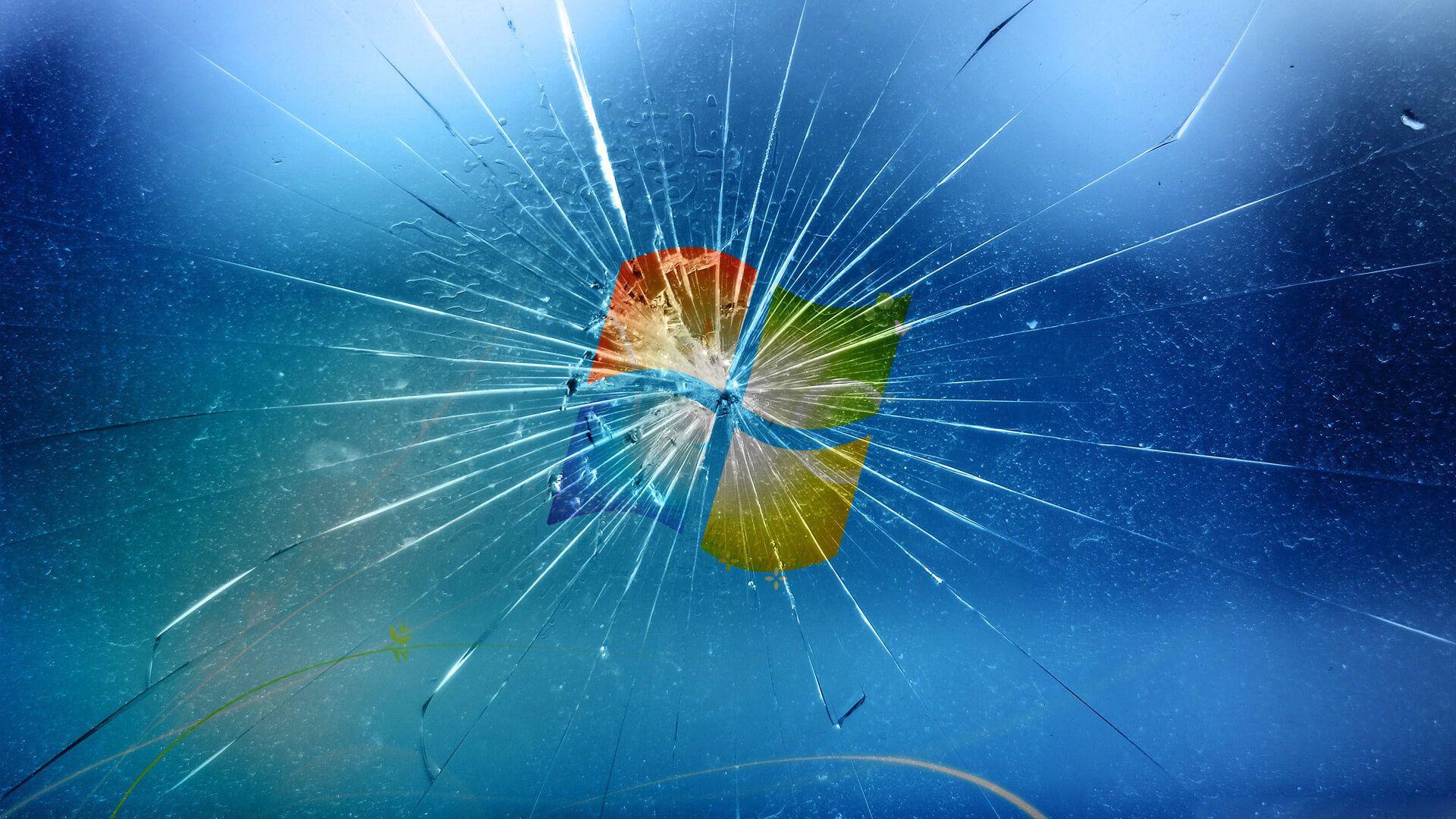 Windows 1 0 Wallpaper Bing Images Broken Screen Wallpaper
