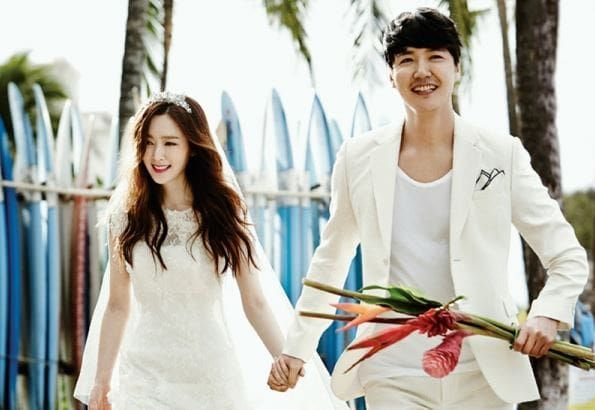 Image result for Yoon Sang Hyun And Maybee Welcome Their Third Child