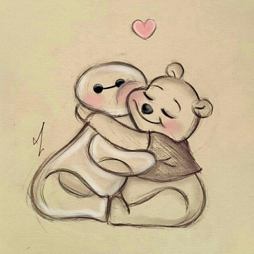 Warm Hugs Disegni Semplici Disegni Animati