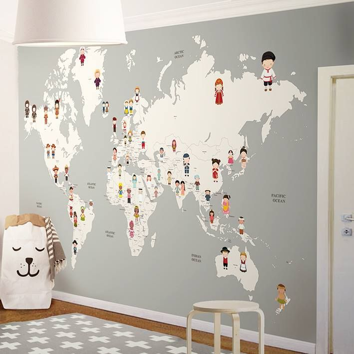 Edas room appartments pinterest wallpaper nursery and kids rooms wallpaper for nursery gumiabroncs Gallery