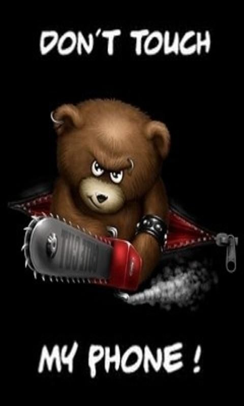 Pin By Aisha Hassan On Funny Pictures Animated Screensavers Funny Wallpaper Evil Teddy Bear