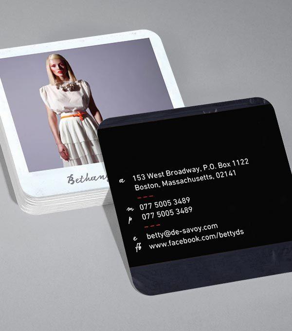 MOO.com | Polaroid Style Square Business Card Design | | MARKETING ...