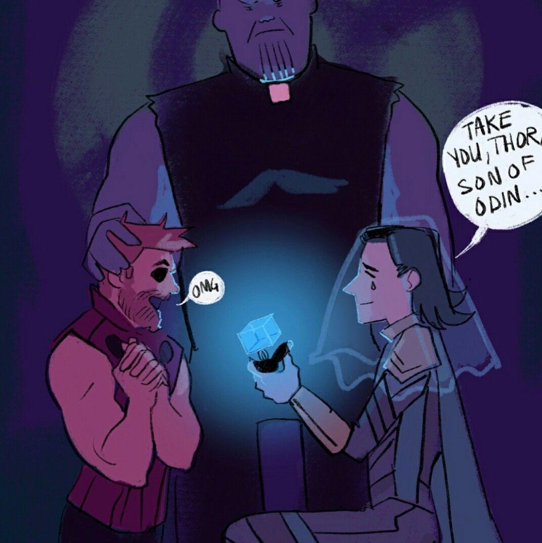 Loki & Thor - Marvel Infinity War - Love Loki - Thorki moment