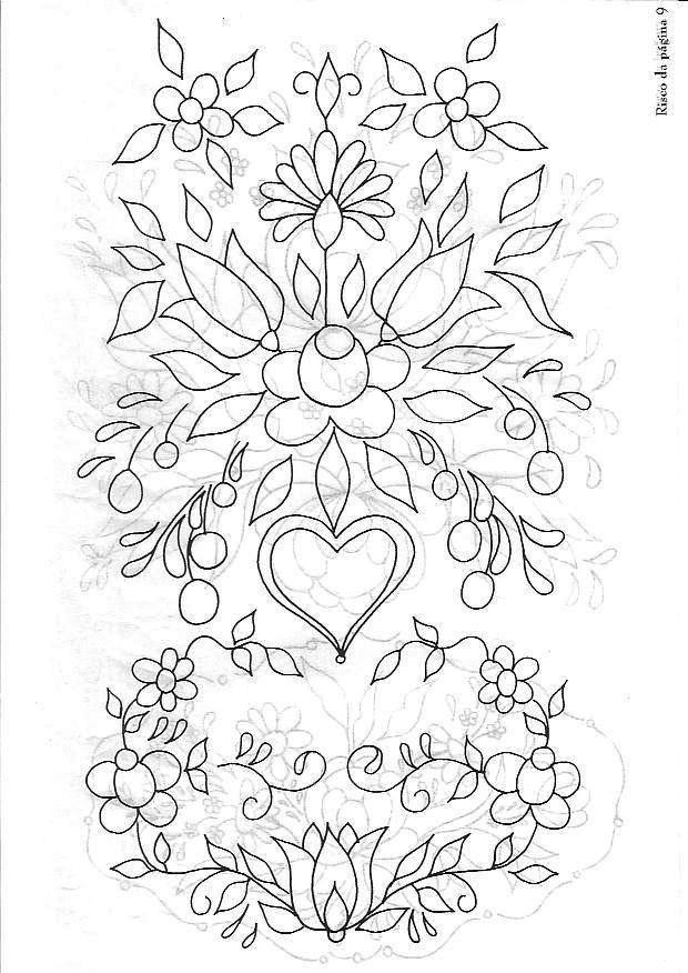 dibujos para bordar mexicano - Buscar con Google | Plantillas para ...