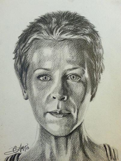 Carol The Walking Dead Facebook Look Again The Walking Dead Illustration Papel De Parede The Walking Dead