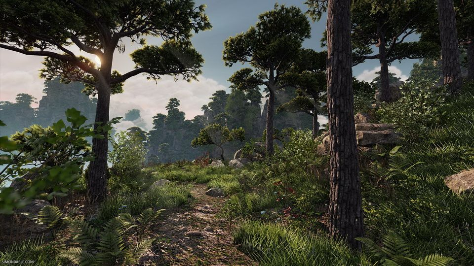 Creating nature in Unreal Engine 4: A 3D artist from Sweden