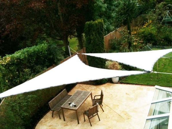 Right Angled Triangle Sail Shade 3x4x5m Architecture And