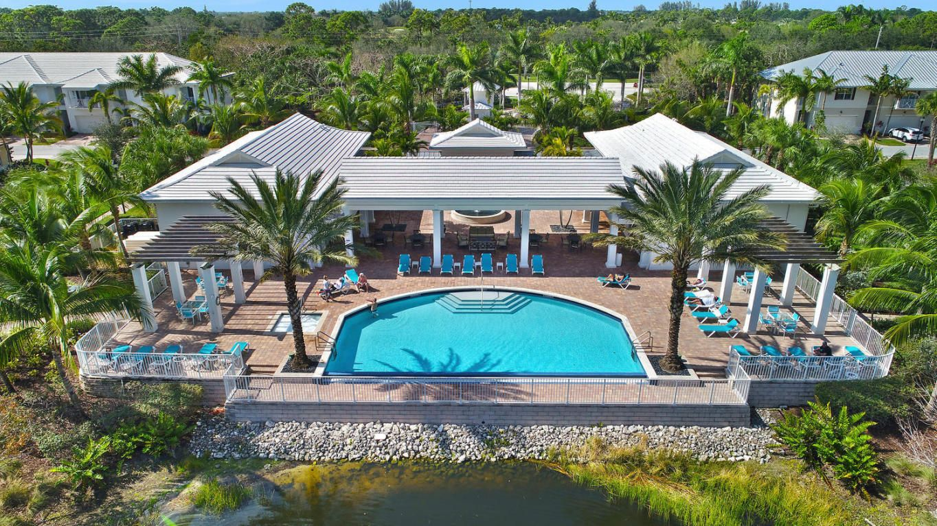 Hampton cay residents enjoy a heated infinity edge pool
