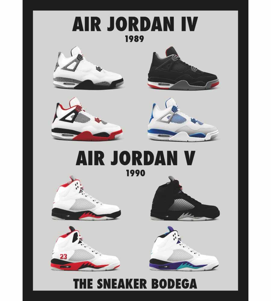 cheap for discount 48699 98214 Air Jordan OGs Posters by Sneaker Bodega
