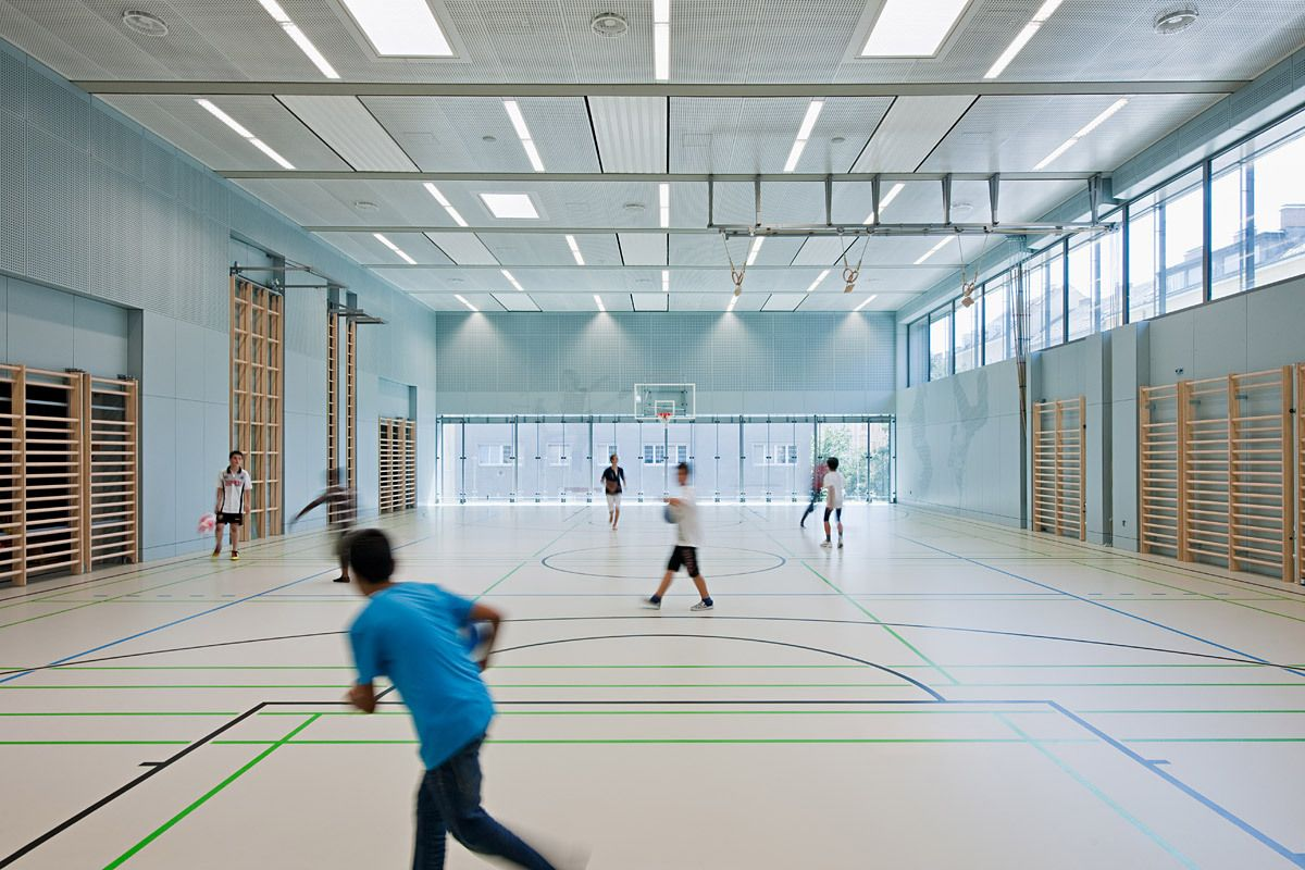 showcase stelzhamerschule linz gymnase salles de sport. Black Bedroom Furniture Sets. Home Design Ideas