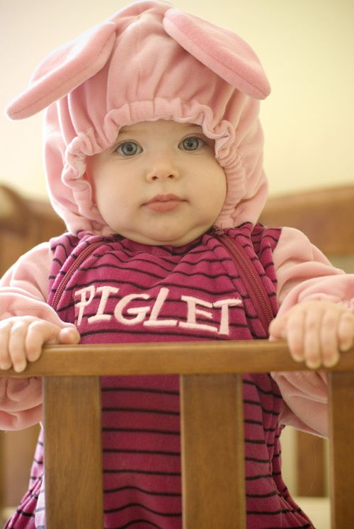 Reminds me of Fionas pooh outfit when she was one! Baby Halloween Costumes df0e969e5287