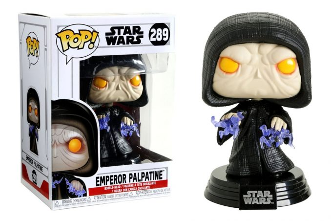 Emperor Palpatine Star Wars Funko Pop Figurine