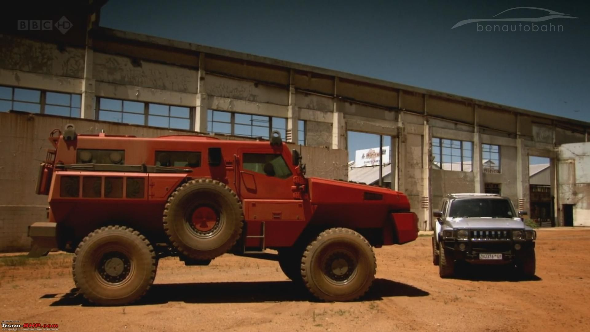 Ultimate Offroader Marauder Next To A Hummer