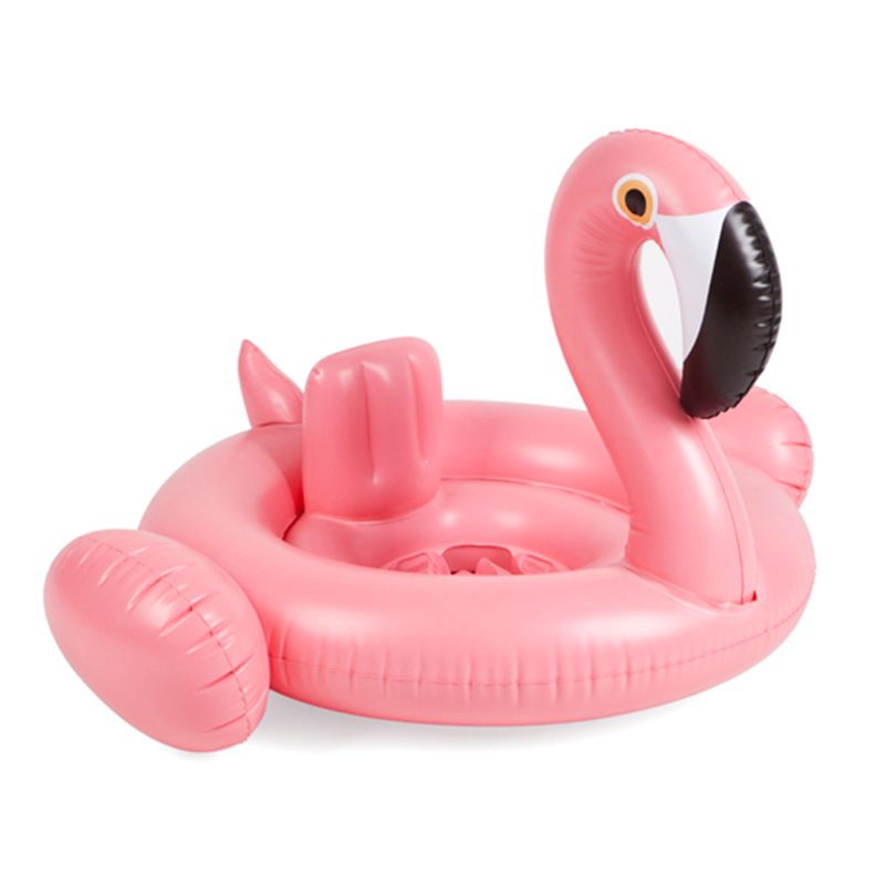Baby Swimming Ring Dount Seat Inflatable Flamingo Swan  Pool Float Baby Summer Water Fun Pool Toy Kids Swimming Pool Accessories