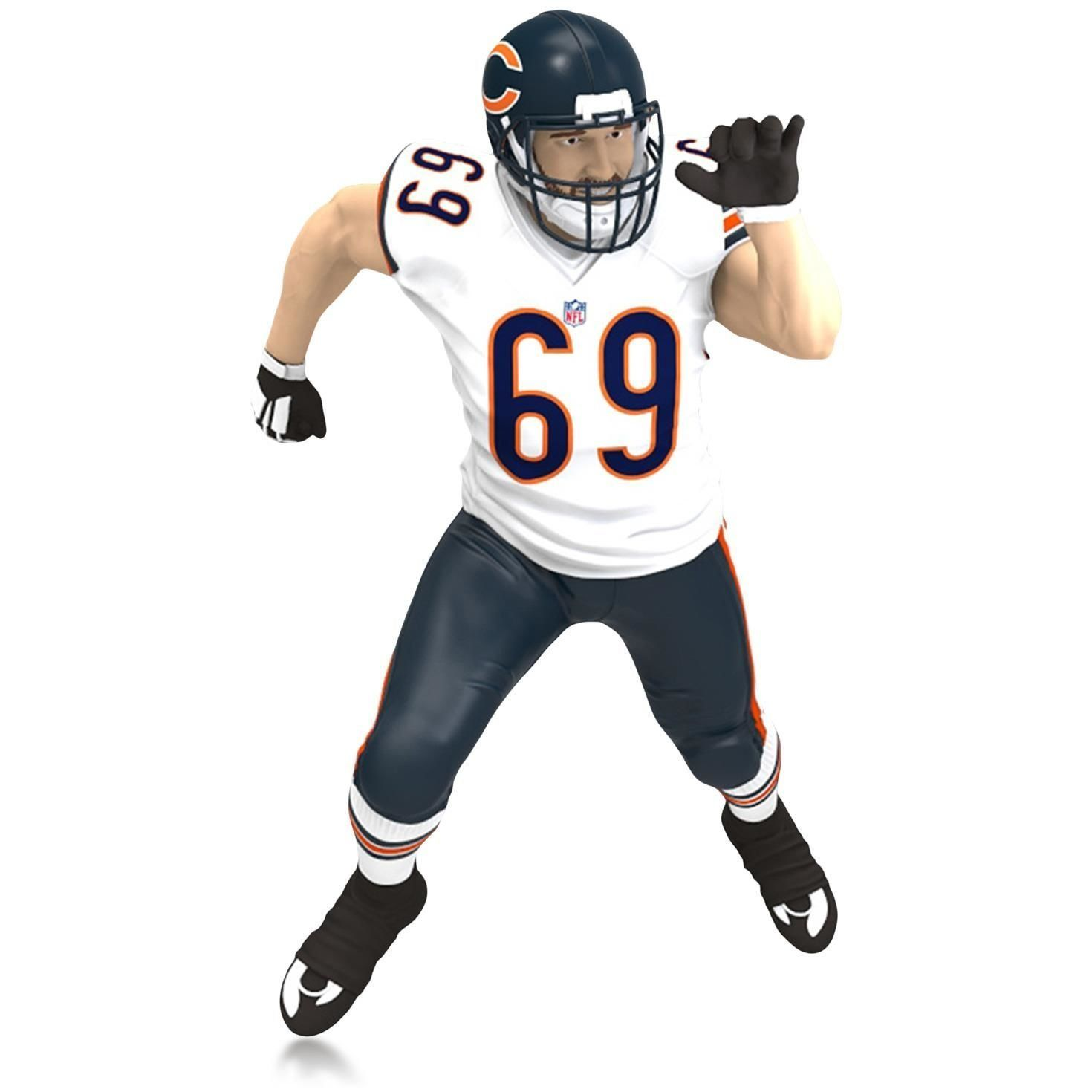Hallmark QXI2739 Jared Allen Chicago Bears Ornament -- Hurry! Check out this great product : Ornaments Home Decor