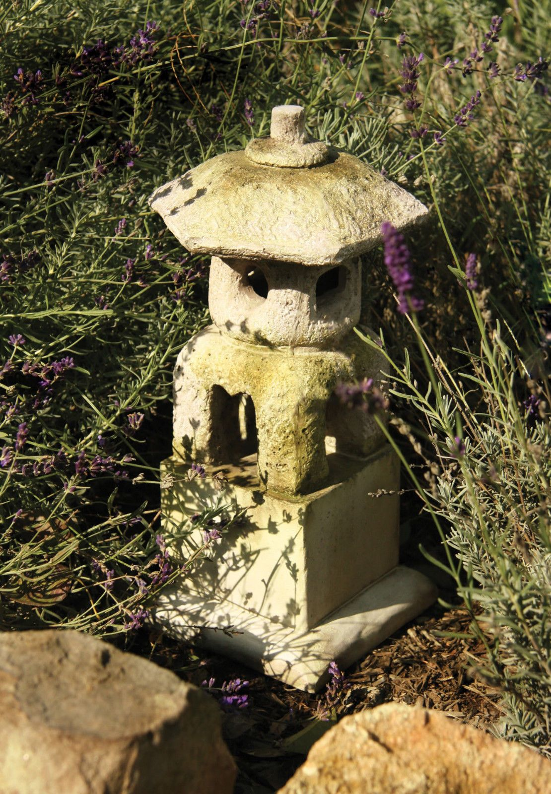 Japanese Pagoda Lantern House Outdoor Garden Statue Sculpture by ...
