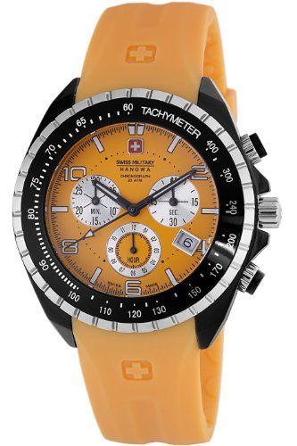 Swiss Military Hanowa Men's Sealander Sport Orange Dial Watch