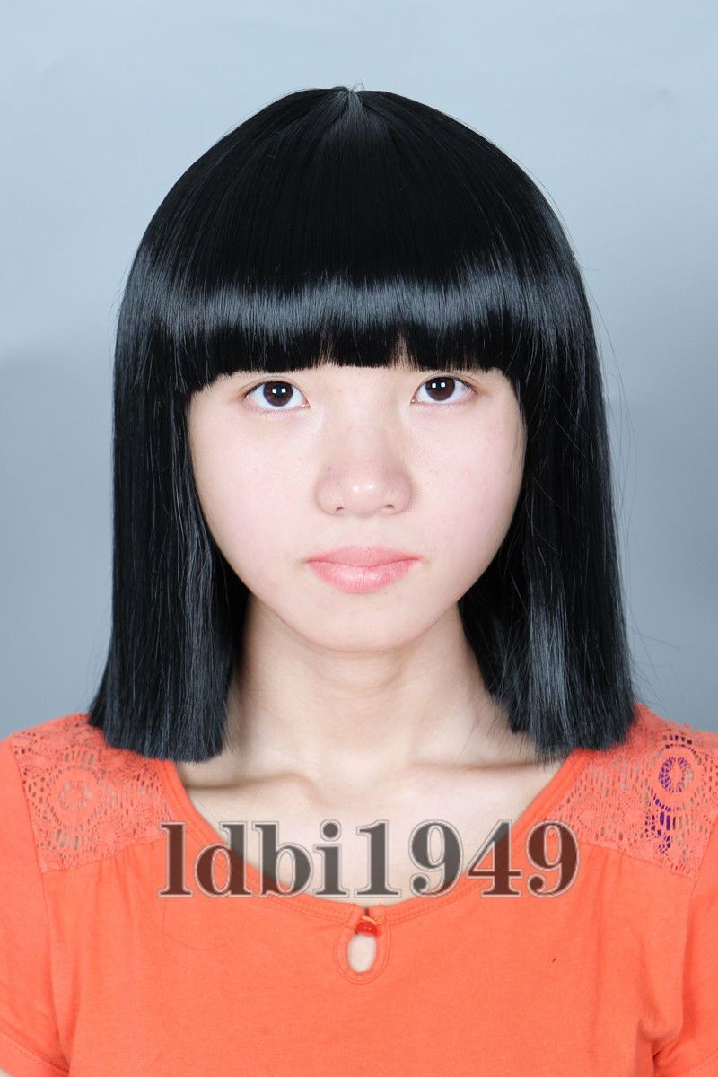 Women S Short Black Straight Cosplay Halloween Costume Bob Wig Sia The  Greatest 2c9ab0a8d36a