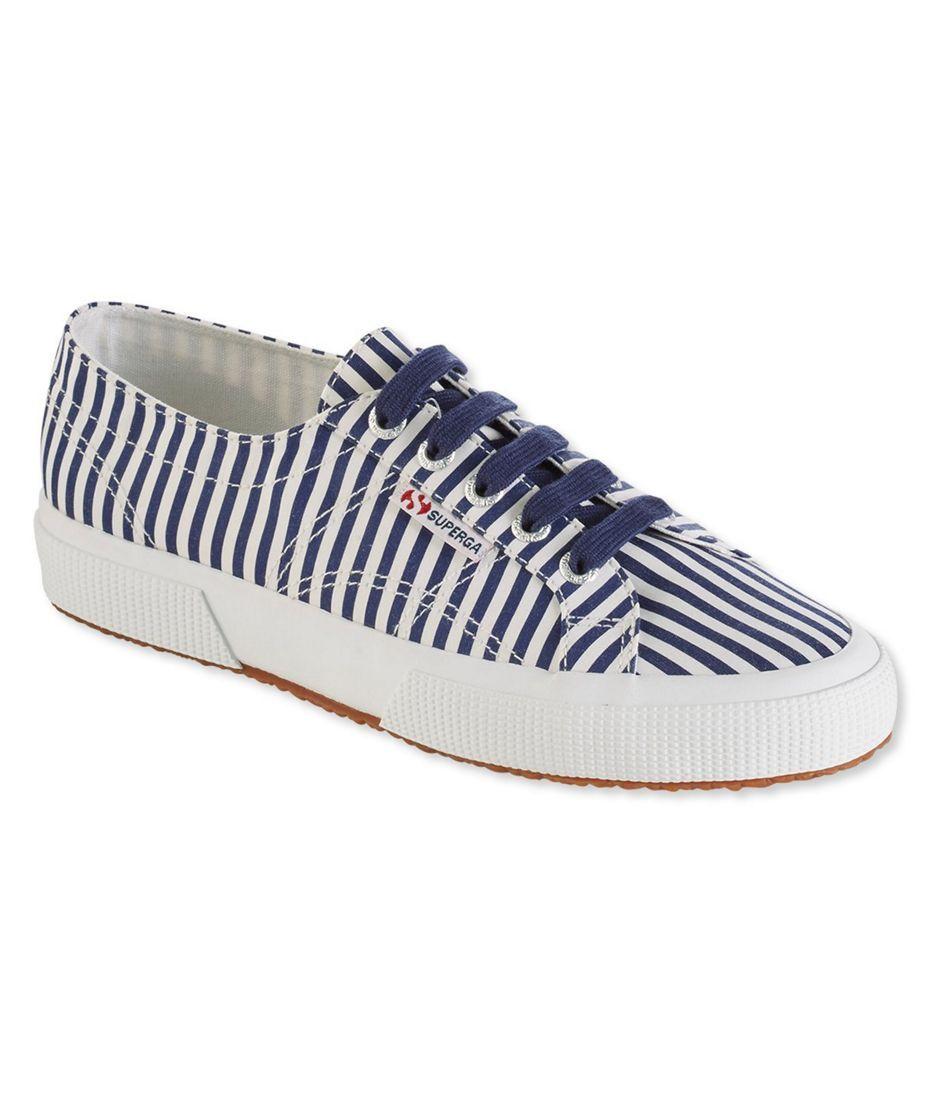 100% authentic ea941 28bdd Superga Classic COTU 2750 Sneakers, Shirt Fabric Stripe ...