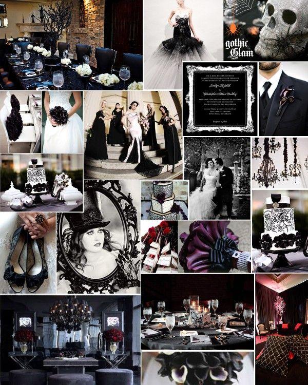 Gothic Wedding Decoration Ideas: THEMED THURSDAY: GOTHIC GLAM