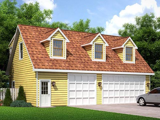 Detached Garage Designs Floor Plans