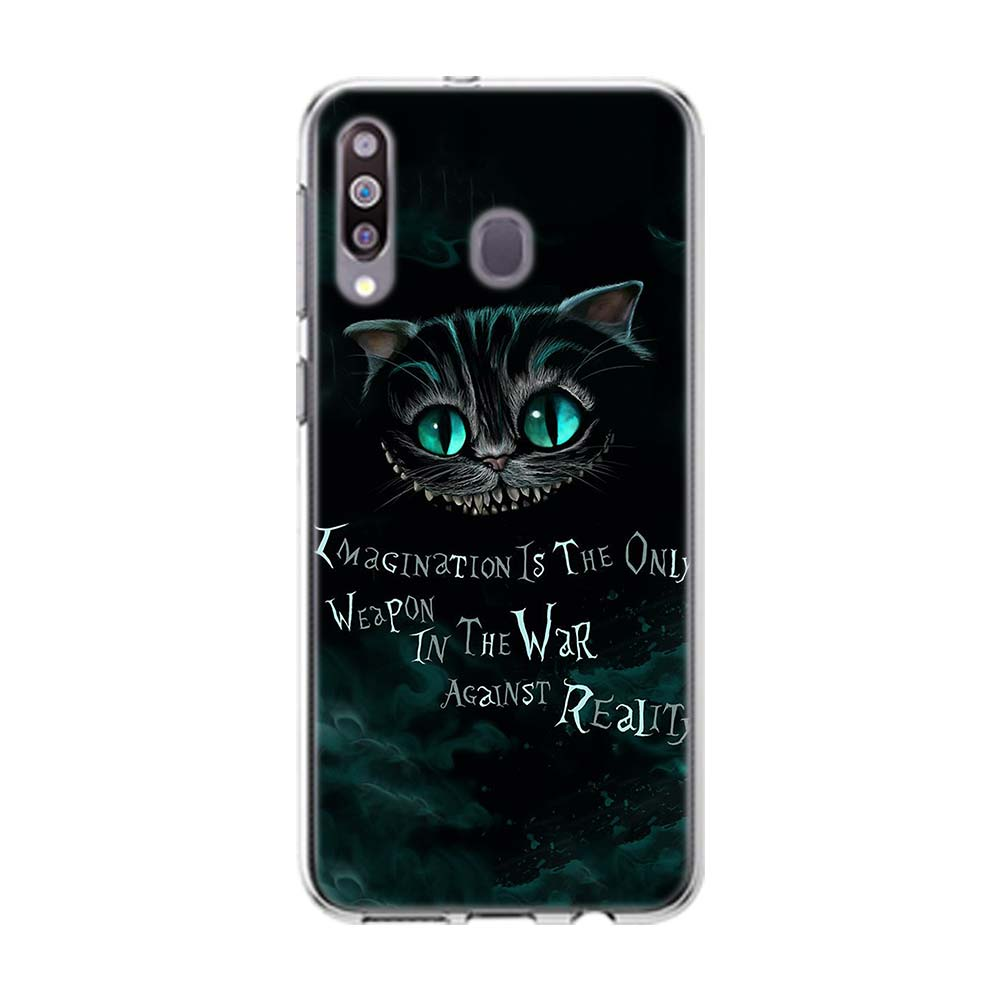 Alice In Wonderland Cheshire Cat Soft Case For Samsung Galaxy A10 ...