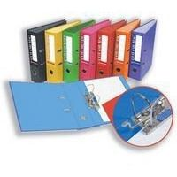 Acco Eastlight Colorado 80mm Lever Arch File Foolscap Orange 28116EAST - OfficeThingy.co.uk