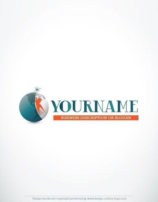 Exclusive design human globe logo compatible free business card exclusive design human globe logo compatible free business card reheart Images