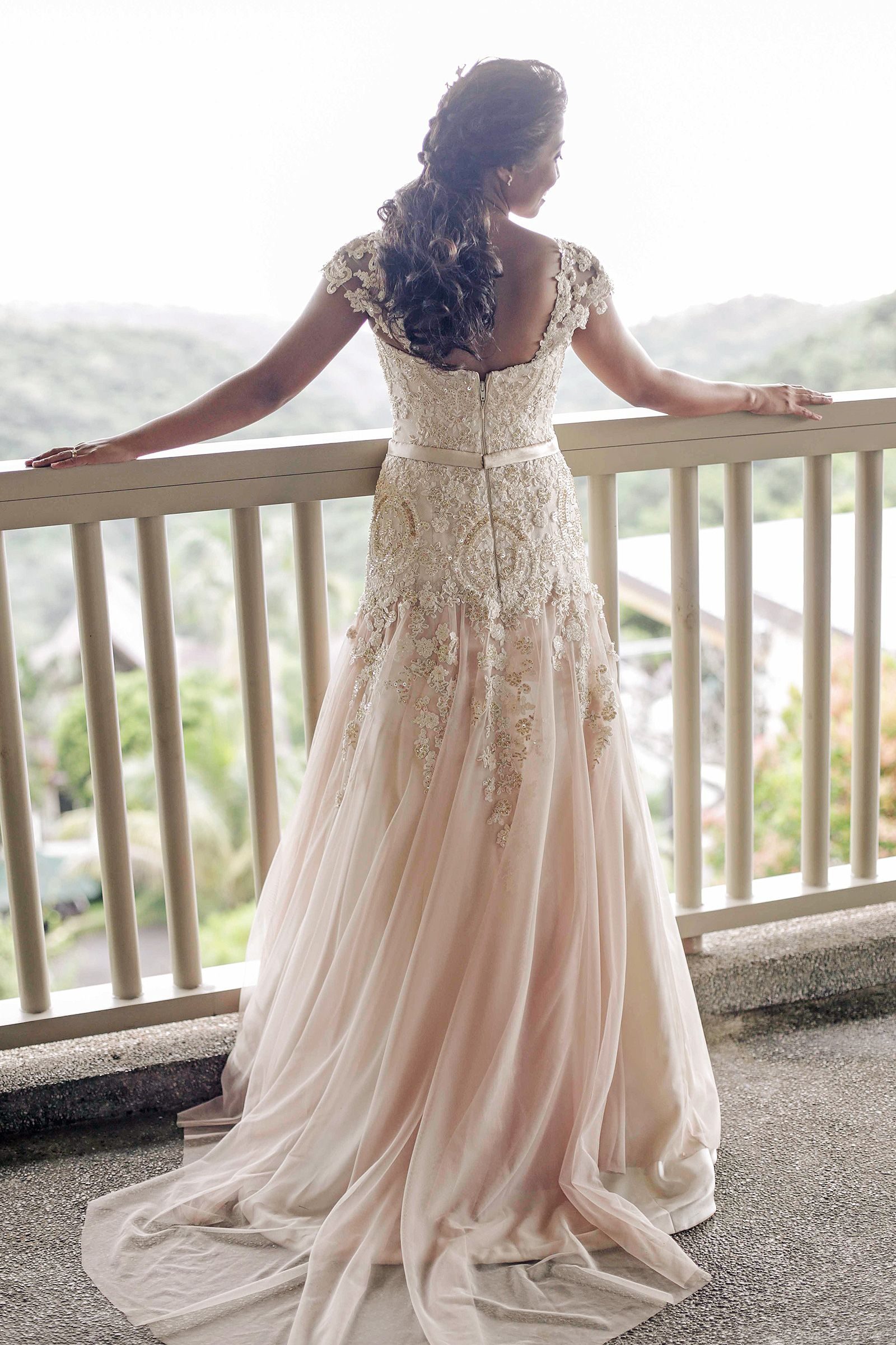 Lace Bridal Gown And Entourage By Camille Co | I DO | Pinterest ...