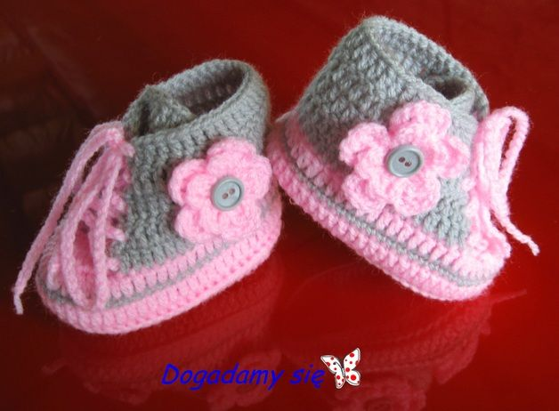 Pin On Baby Booties Crochet 2