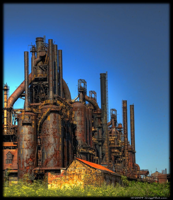 Bethlehem Steel Blast Furnace C | Urban Exploration in ...