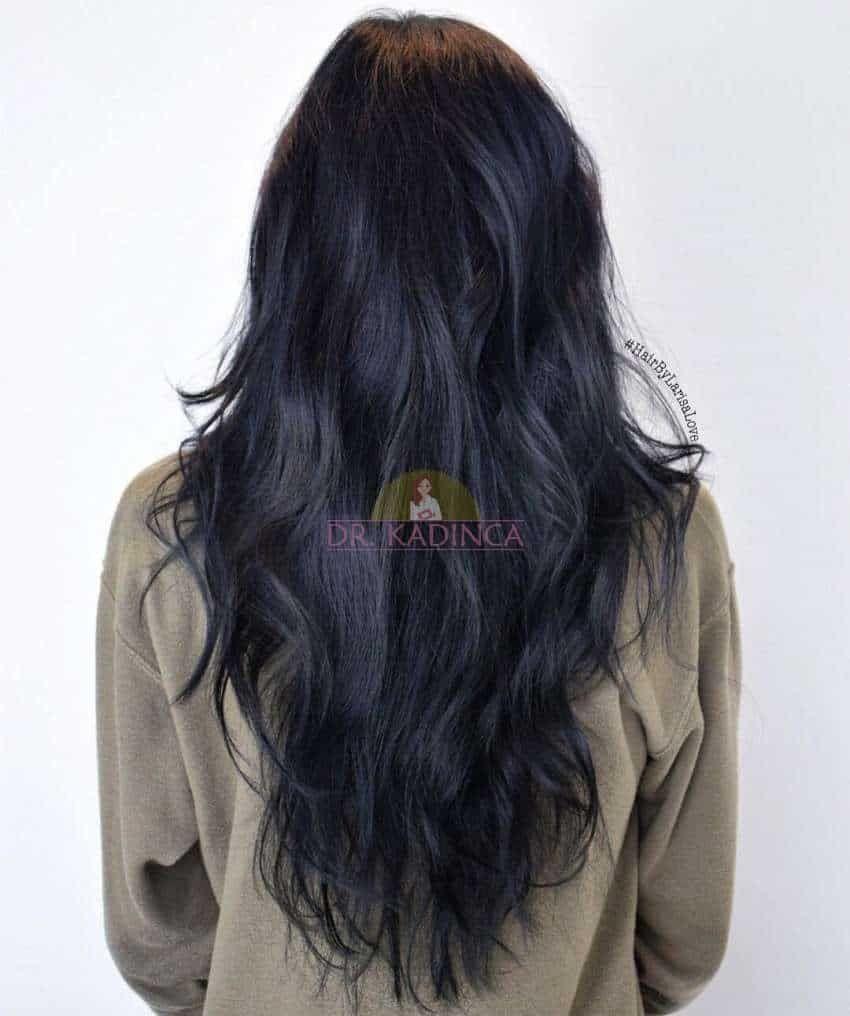 Mavi Siyah Sac Rengi Kimlere Yakisir Dr Kadinca Saglik Kadin