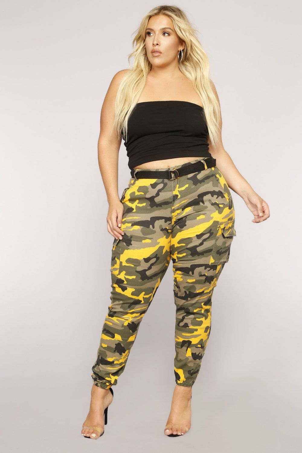 a5225ee58e98e Don't Call Me High Rise Joggers - Yellow Camo in 2019 | My STYLE ...