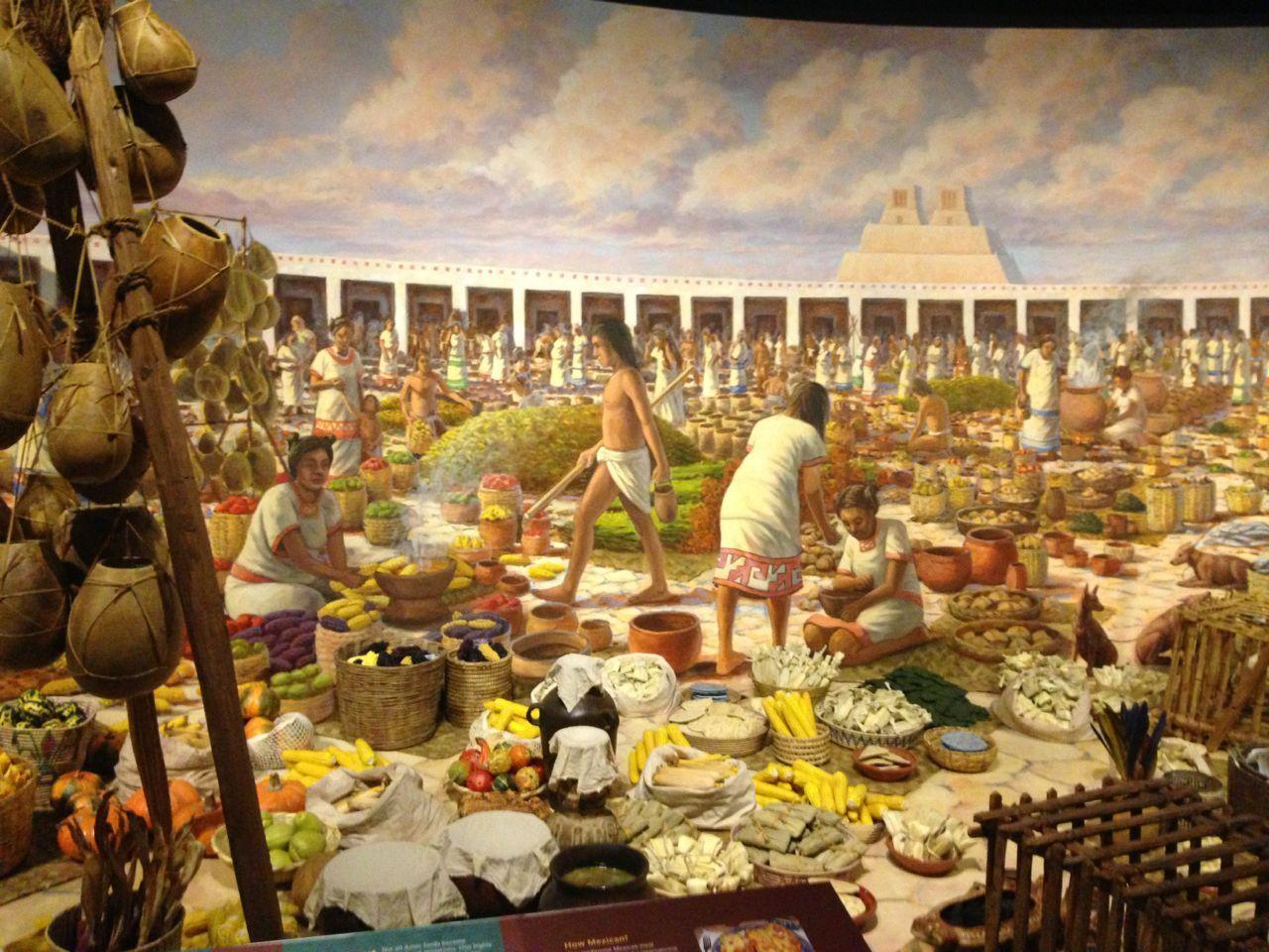 Ancient Mayan Civilization Art