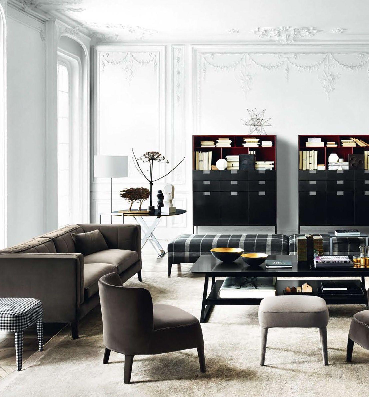 pinamal al on parisian  living room lounge elle