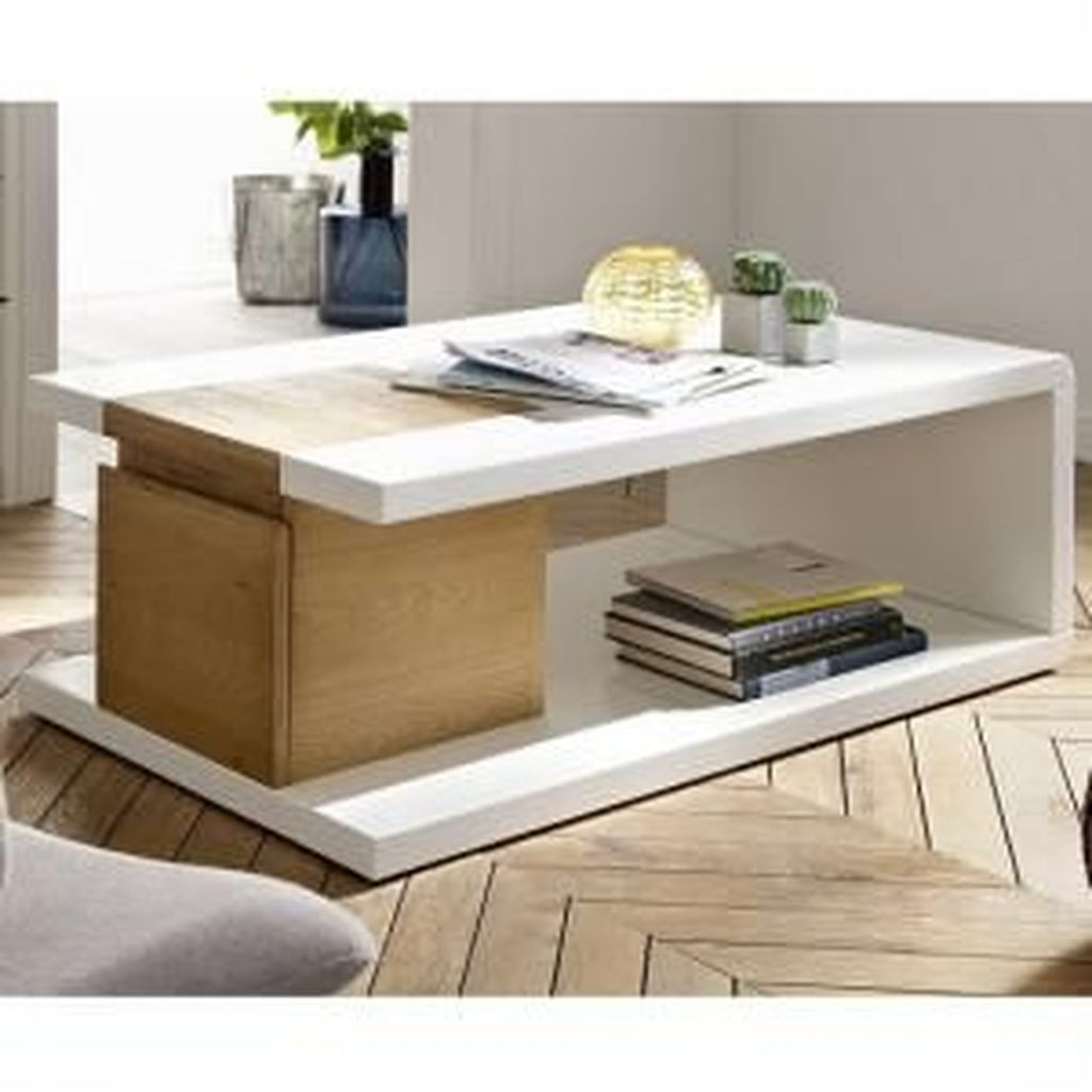 50 Popular Modern Coffee Table Ideas For Living Room Sweetyhomee Center Table Living Room Living Room Coffee Table Oak Coffee Table [ 1024 x 1024 Pixel ]