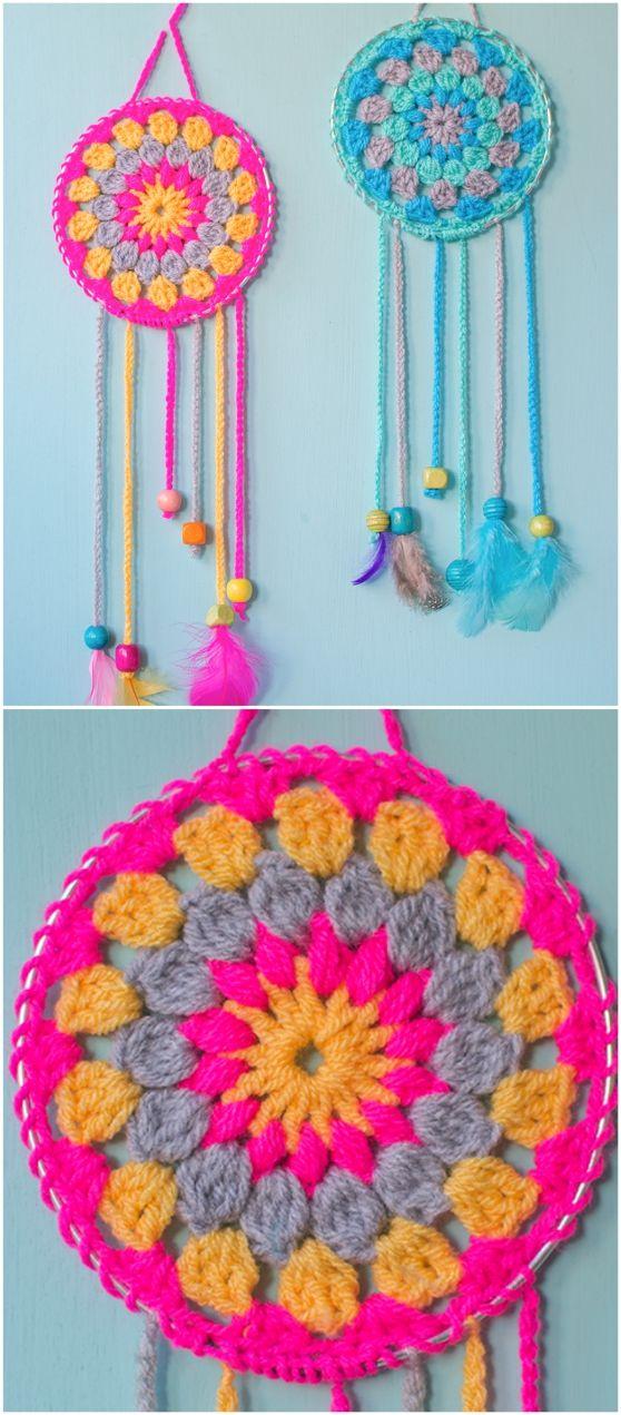 Crochet Mandala Pattern Ideas Youtube Video #crochetmandalapattern