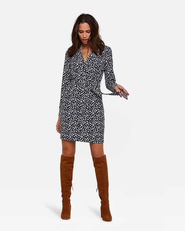 237c211c46a6e3 Dames print jurk in 2019