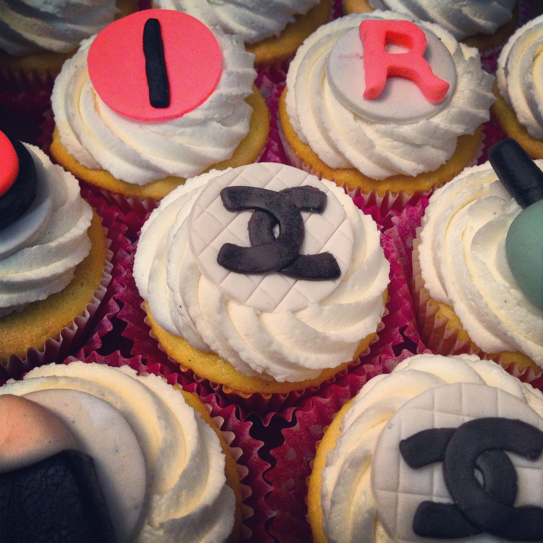 Chanel Nail Polish Cake: Fashionista Cupcakes With Eyeshadow, Lipstick, Nail Polish