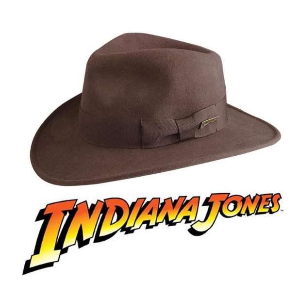 The Quintessential Hat For Your Next Adventure Officially Licensed This Beauty Is Made From High Quality Wool In 2020 Indiana Jones Fedora Indiana Jones Hats For Men