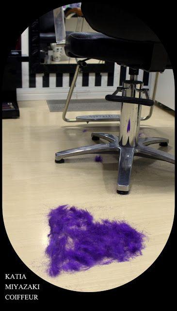 Katia Miyazaki Coiffeur - Salão de Beleza em Floripa: purple hair - dark purple hair - marsala - imperia...