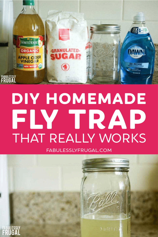 Goodbye House Flies Make A Homemade Fly Trap In 2020 Homemade Fly Traps Fly Traps Diy Fly Trap