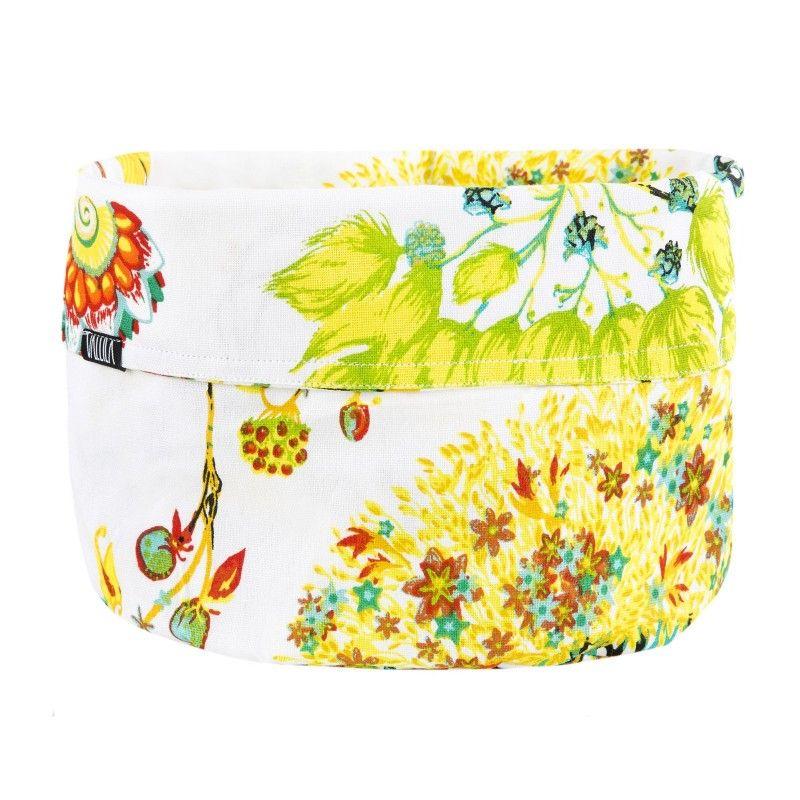 <p>Bonsai-leipäkorin kuosi on Vallilan suunnittelija Matleena Issakaisen suunnittelema. Kukkakuvioinen Bonsai-kuosi on hyväntuulinen ja värikäs. Valkopohjaisessa Bonsaissa yhdistyvät estetiikka, värit ja huoliteltu kokonaisuu