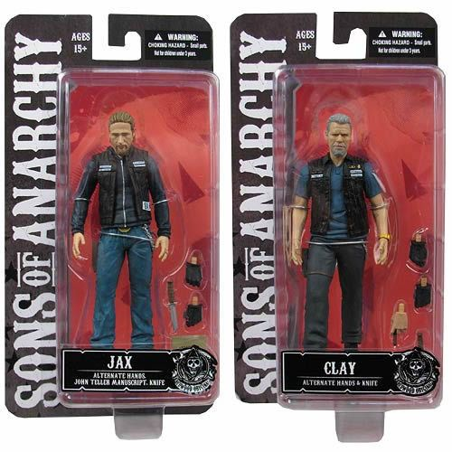 Jax Teller Amp Clay Morrow 6 Quot Sons Of Anarchy Action Figures